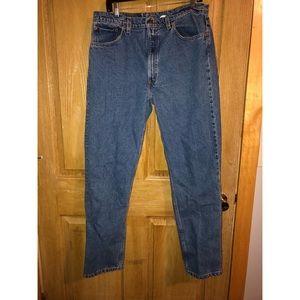 Vintage 505 Levi's straight leg 38X32